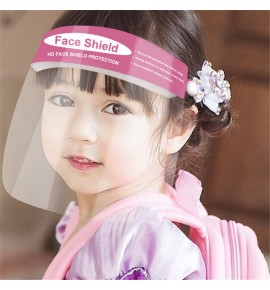 10pcs Anti-spitting direct splash HD face shields for kids both side anti-fog  full face cover protective mask for boy girls