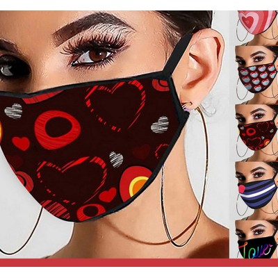 2pcs printed Reusable Face Masks Dust washable cotton Reusable Face Masks