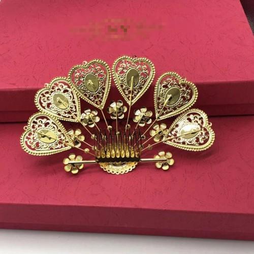 Girls Chinese folk dance hair accessories hanfu fairy drama queen princess  cosplay headdress crown hair clip