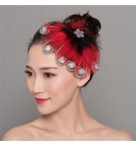 Women's Chinese folk dance headdress girls ancient traditional classical dance modern dance hair clip hair accessories