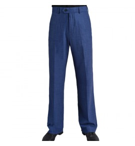 Navy blue men's male competition latin ballroom dance pants tango waltz trousers pants