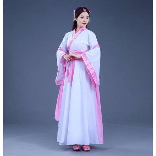 Chinese hanfu traditional classical dance fairy princess drama cosplay chinese folk dance costumes