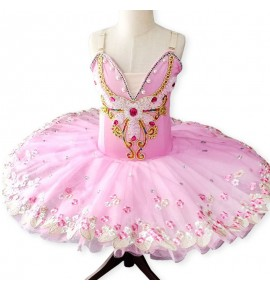 Girls modern dance tutu skirt ballet dresses pancake skirts ballerina swan lake stage performance ballet dance costumes