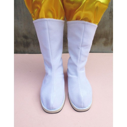 Men's boys chinese folk dance hanfu boots chinese traditional ancient swordsman knight drama cosplay boots