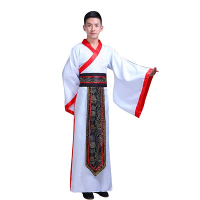 Chinese Ancient traditional costumes men's drama cosplay Hanfu film and television annual stage performance performance clothing