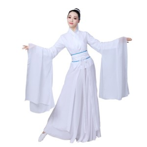 Chinese folk dance costumes for women female ancient traditional hanfu dance classical stage performance anime drama cosplay dancing dresses
