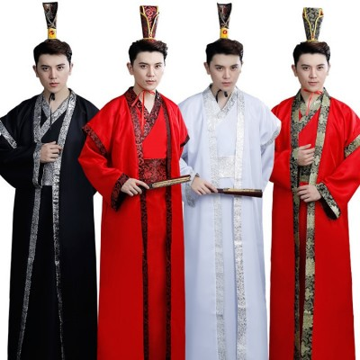 Chinese folk dance costumes warrior swordsmen cosplay Hanfu studio photo heroes clothing martial arts film and television performances clothing