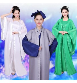 Chinese hanfu for women and men chinese ancient traditional drama movies cospaly stage performance phtos fairy princess dresses