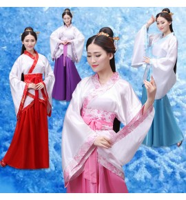 Chinese traditional hanfu for women drama movies film cosplay performance kimono dress photos shooting fairy princess dress