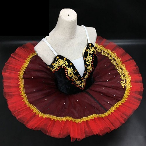 Girls ballet dresses  tutu skirts swan lake vestito da balletto delle ragazze ballerina stage performance modern dance dresses