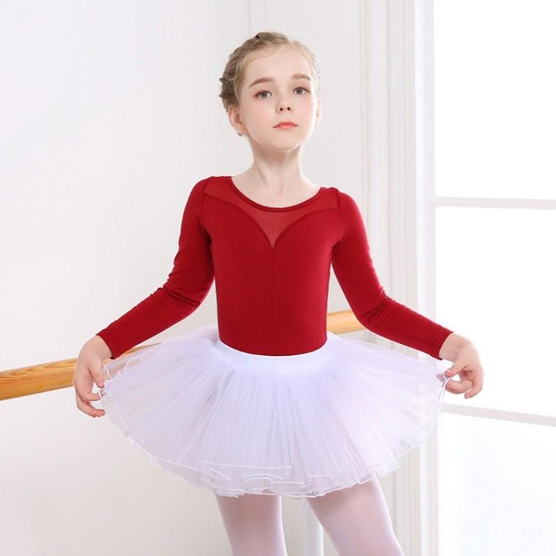 Kids Ballet Latin Salsa Dancwear girl/'s skirt Dress Children/'s Dancing Costumes