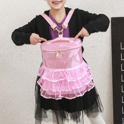 Girls ballet latin dance bag double shoulder  stage performance dance accessories backpack