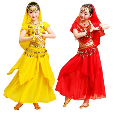 Girls belly dance costumes Indian Egypt dance stage performance competition professional belly dance dresses