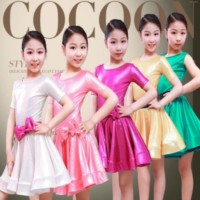 Girls Carnival latin dance dresses dancewear costume Kids Modern Latin Ballroom Party Dancing Dress Child Dancing dress clothes For Girls