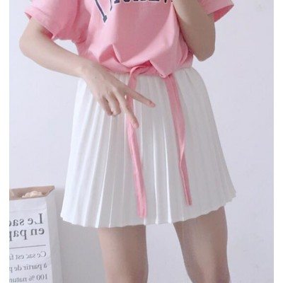Girls cheer leaders student skirt school stage performance competition pleated skirts