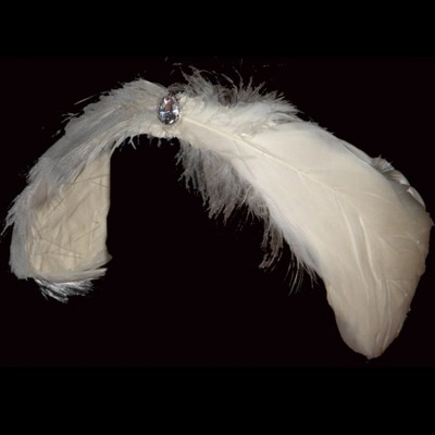Girls children women's ballet headdress for professional little swan lake stage performance ballet dance head feather hair accesories