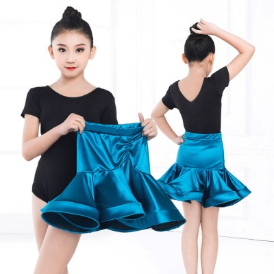 Girls competition professional latin dance dresses modern dance stage performance rumba salsa chacha dance dresses costumes