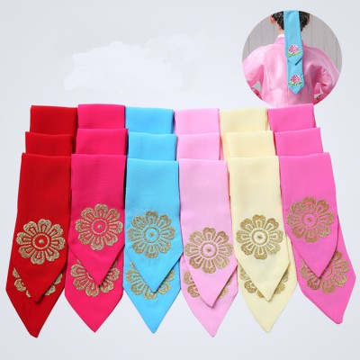 girls hanbok korean traditional dress Hair belt accessories hanbok Hair band Embroidery Korean hairpins