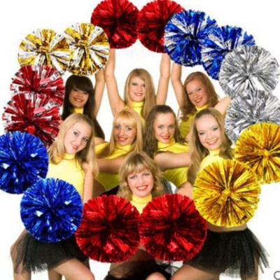 girls women's hand flower for Campus competition student cheerleaders ball football baby handball stage performance dance props one pair