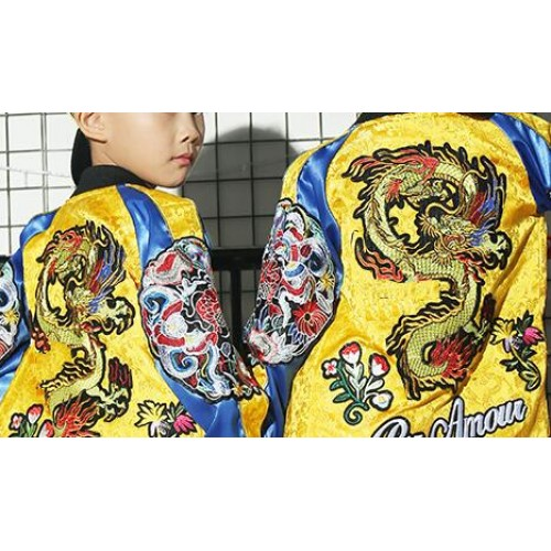 9196172e0339 ... Kids hiphop street dance costumes modern dance show performance china  dragon style competition photos cosplay costumes ...