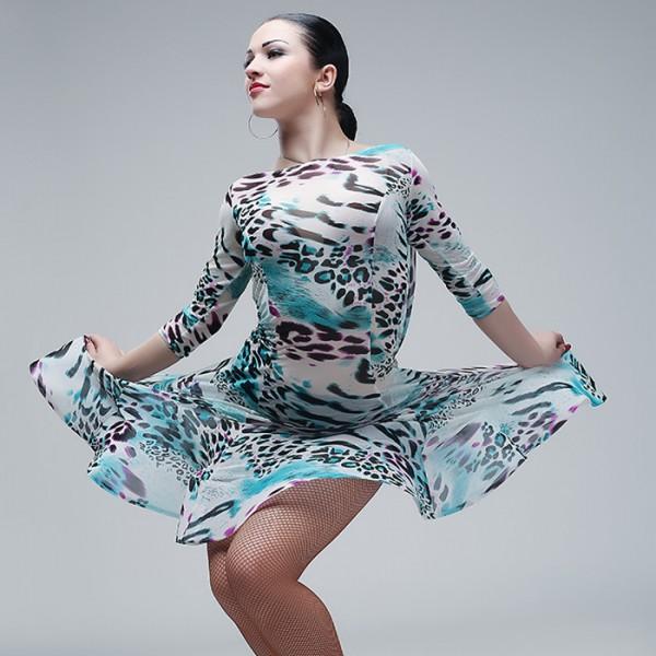 3f8d82f7e84c Black Backless Latin Dance Dress Women Professional Latin Dress Samba Latin  Salsa Dresses Dance Costumes Clothes Dancing Dress