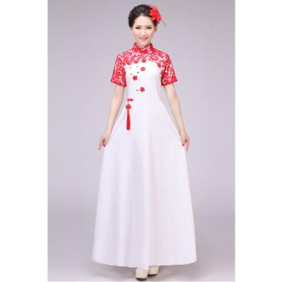 Cheongsam Traditional Women Tang Ancient Chinese Costume Beautiful Dance Costume Princess Dynasty Opera Chinese Hanfu Dress