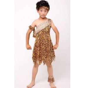 Child Boy Girl Native American Indian Princess Dress Cosplay Costume Soldiers Warrior Fancy Dress Birthday Party Halloween