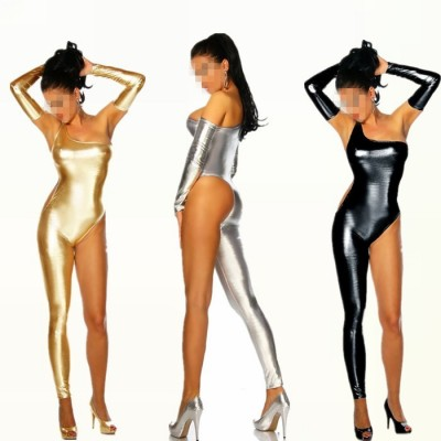 Fashion sexy women one-piece dress coverall female singer dancer Dj clothes ds costume dance jazz bodysuit performance wear