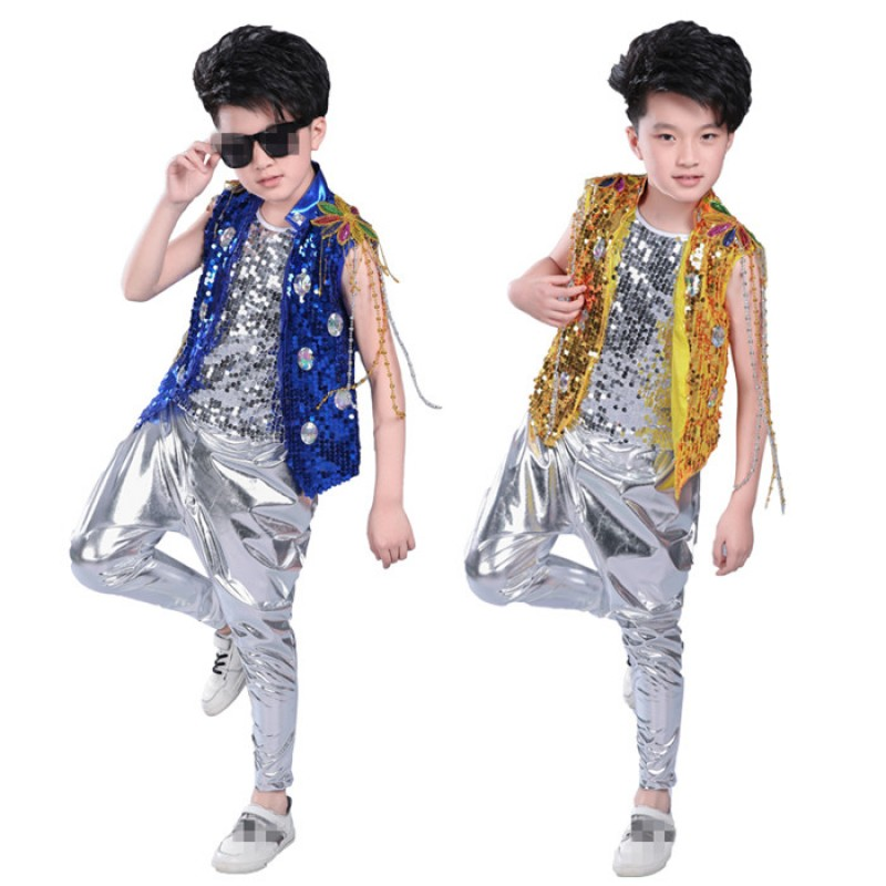 Kids Children Hip Hop Clothing Jazz Hip-hop Drum Dance ...
