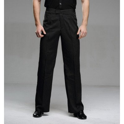 Modern male training Latin dance trousers pants ballroom dance pants
