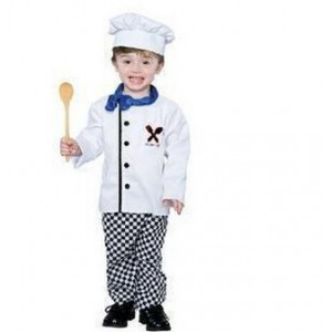 New special costumes children photography Cosplay boys chefs clothing performance clothing Halloween clothes
