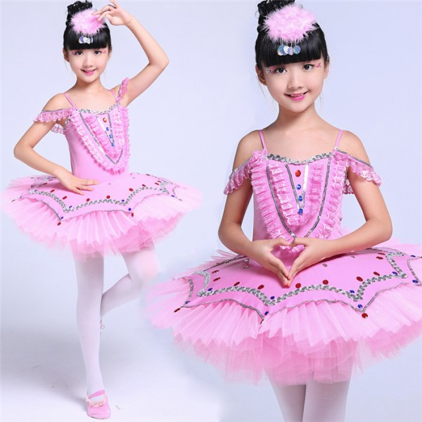 Professional Ballet Costumes For kids White/Blue/Pink Swan Lake Ballet Costume For Girls  sc 1 st  Wholesaledancedress.com : blue ballerina costume  - Germanpascual.Com