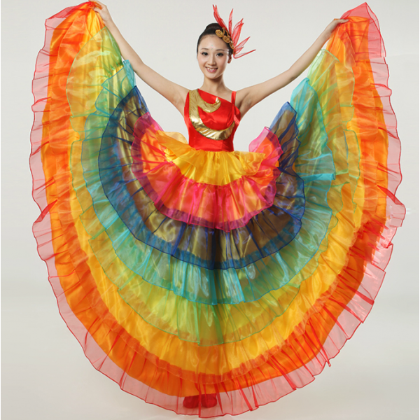 b9aec5bf86bb Colorful Dance Costume   Colorful Dance Recital And Competition ...