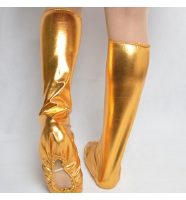 Kids  Adult Dance shoes cover Accessories Flexible Children Dancing Shoes Covers Performance Clothing Unisex Jazz Dance Foot Covers