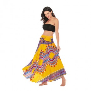Leisure Thailand Beach holiday skirt Big skirt belly dance skirts for women