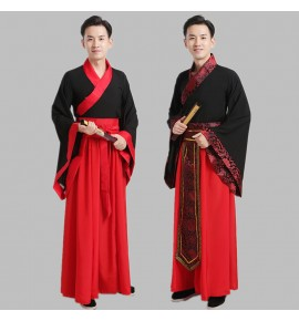 Men's hanfu emperor drama drama cosplay robes chinese ancient swordsmen cosplay costumes robes