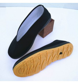 Men's Taoist priest chinese folk taichi kungfu wushu cosplay shoes flats shoes for stage performance