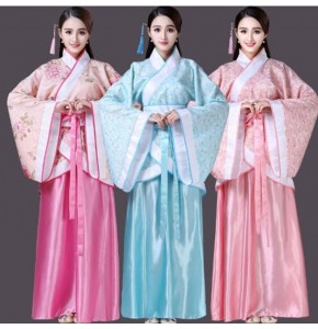 Traditional Chinese folk dance costumes for women costumes for women fairy cosplay dresses ancient costume hanfu dress tang dynasty