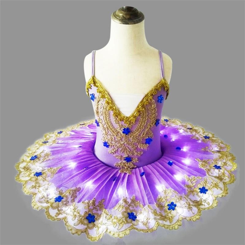 Performance LED Dance Skirt LED Dress Belly Dance Costume Skirts fairy LED skirt