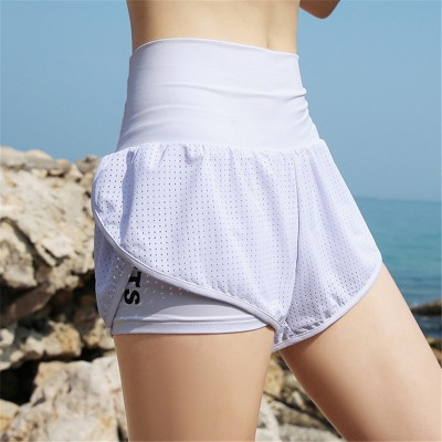women quick-drying fitness yoga sports shorts female breathable workout running training gym shorts