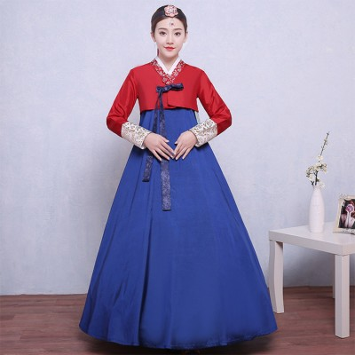 Women traditional hanbok dress korean traditional dress hanbok costume hanbok dresses