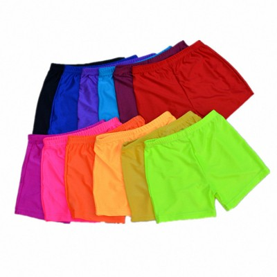 Women's ballroom latin rumba chacha dance shorts colorful colored stage performance dance accesories