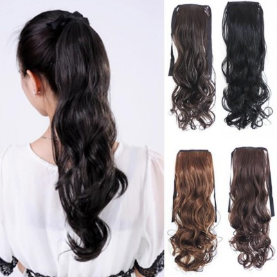 Women's curly hair extension ponytail stage performance fashion ponytail hair piece
