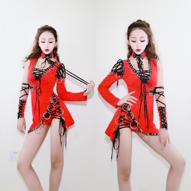 Women S Jazz Hiphop Gogo Dncers Outfits Female Girls Modern Lead Dancers Pole Dance Stage Performance
