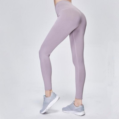 Women's yoga pants quick dry breathable fitness sports running training yoga capris pants workout leggings