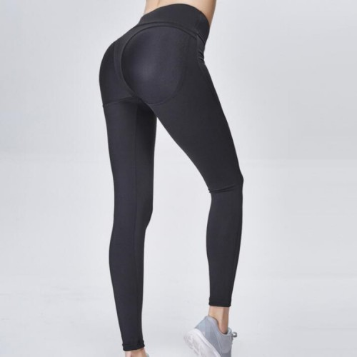 Women's yoga workout pants gyms fitness sports running high rise yoga capris pants workout leggings
