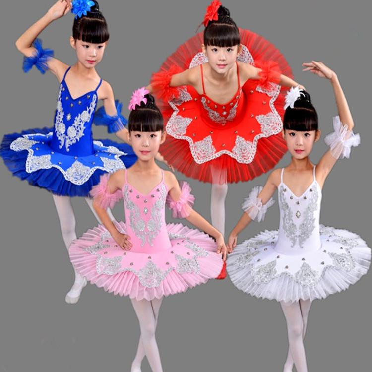 53938dd02b35 Professional Ballet Tutus Blue white pink swan lake Ballet Dance ...